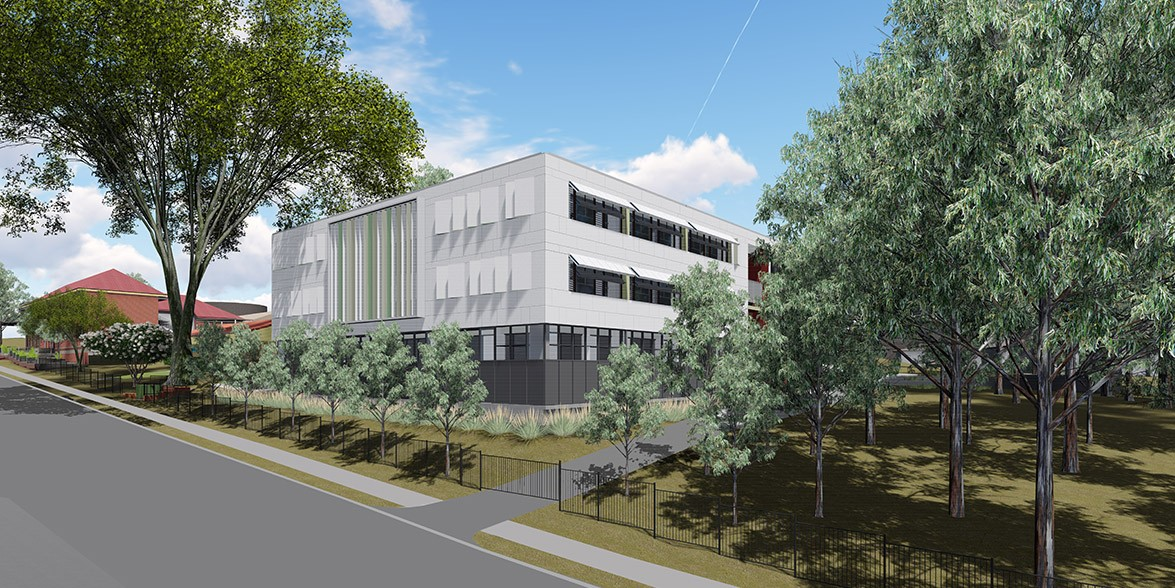 Artist impression of the new Carlingford Public School upgrades